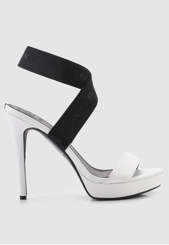 e1170cd9aaa63 Guess white Sandal Dress Heels D0FA5SH0245604GS 1
