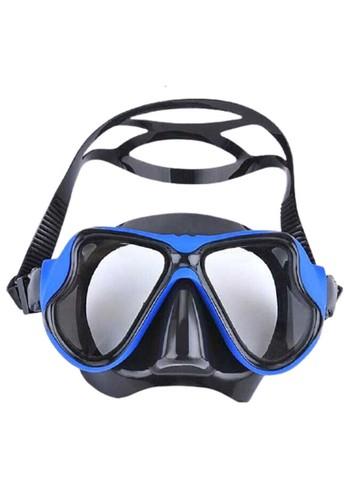 Hamlin blue Hamlin Qanic Kacamata Selam Scuba Diving Snorkeling Material Plastic ORIGINAL CABDBACF7BC92FGS_1
