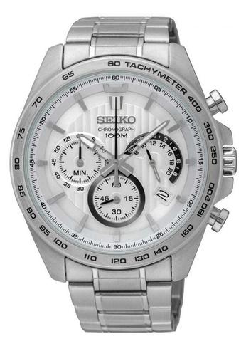 Seiko silver Seiko Silver Stainless Steel Watch 51092ACA164B66GS_1