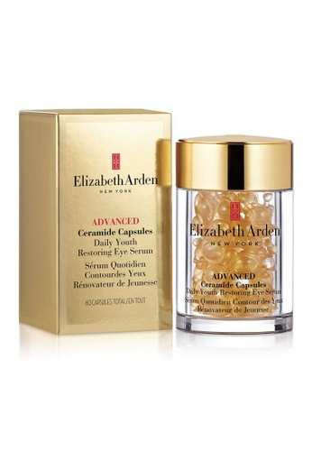 Elizabeth Arden gold Advance Ceramide Capsules Daily Youth Restoring Eye Serum 60pc EL686BE20TELMY_1
