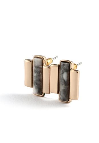 My Flash Trash gold Resin alloy earrings F25F4AC938B53FGS_1