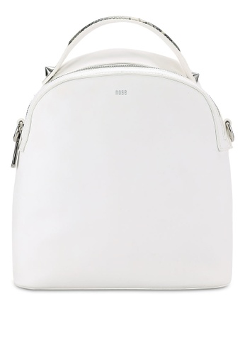 Nose white Animal Print Backpack NO327AC0RCAKMY_1