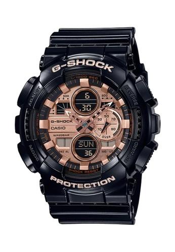 G-SHOCK black CASIO G-SHOCK Men WatchGA-140GB-1A2DR C8DEFAC6523C4CGS_1