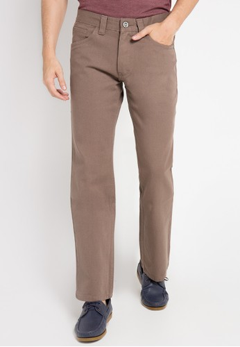 Watchout! Jeans brown Straight Relax Jeans Pants WA971AA0VWJLID_1
