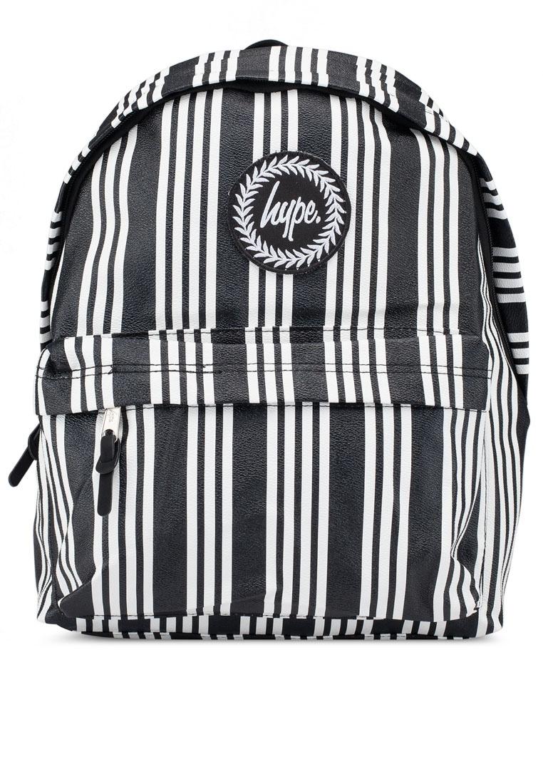 Black Just Hype White Backpack Friday Stripe Black Vinyl BqEStYWn at ... e585e75954f63