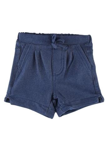 FOX Kids & Baby blue Baby Girls Denim Shorts 62307KA7E07B29GS_1