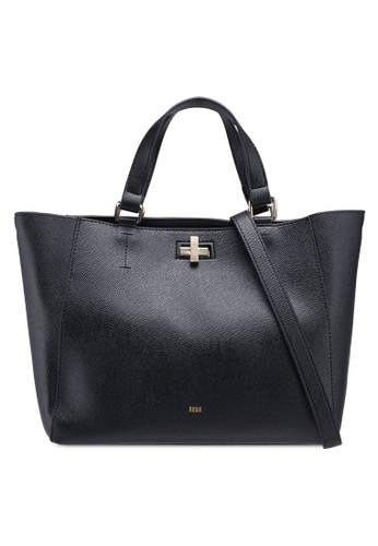 Nose black Casual Buckle Tote 259F8AC931A0A8GS_1