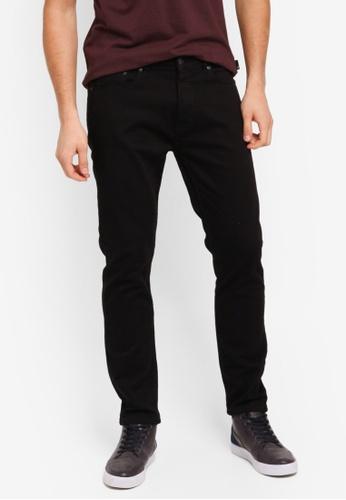 Burton Menswear London black Black Skinny Fit Jeans BU964AA0T1GNMY_1