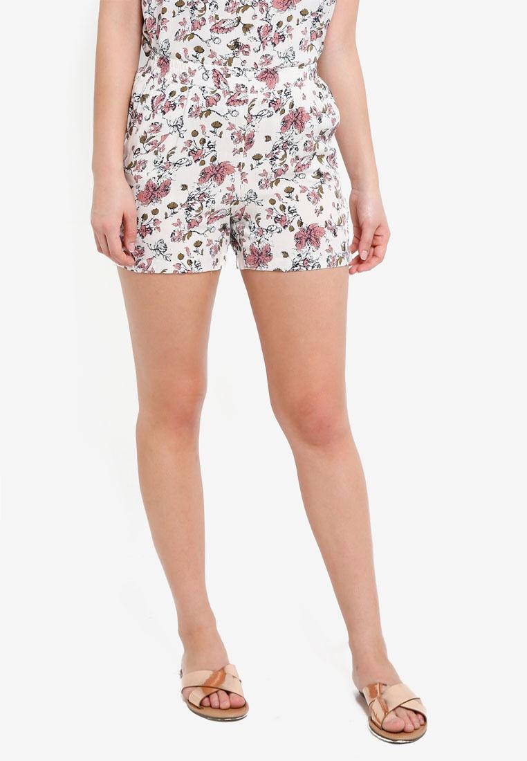 ICHI Pristine ICHI Vera Vera Print Shorts Shorts vzxnqZwn4