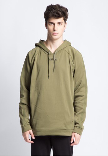 ANTHM green ANTHM HOODED JUMPER 22B85AA907CB16GS_1
