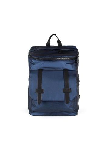 Alef blue Alef Featherweight Backpack in Blue 93EBDACE4076F9GS_1