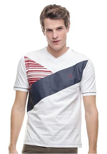 Johnwin white LGS - Slim Fit - Kaos Casual Active - Gambar Sablon - Putih E3AD3AACA7890DGS_1