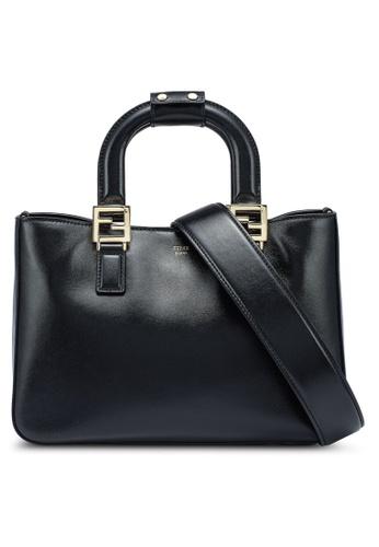 FENDI black Gloria Small Top-Handle Bag (zt) C1DACAC6CA5772GS_1