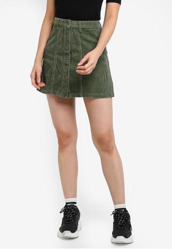 373cc5cde329 Buy Supre The Olsen Corduroy Skirt Online on ZALORA Singapore