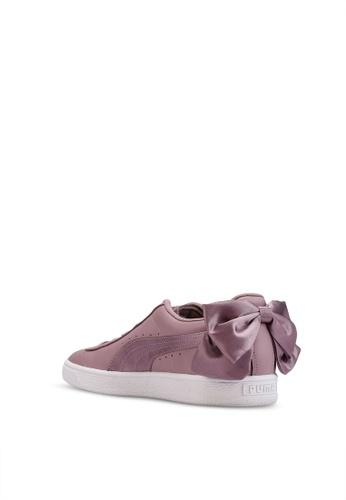 Women's Sneakers Bow Satin Basket srBohQxdCt