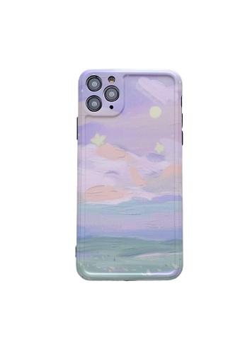 Kings Collection purple Purple Landscape iPhone 12 Pro Case (KCMCL2145) 0EA4FACB9D62A4GS_1
