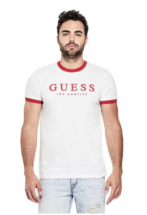 5ad1bab1f852 Buy Guess Men T-Shirts Online   ZALORA Hong Kong