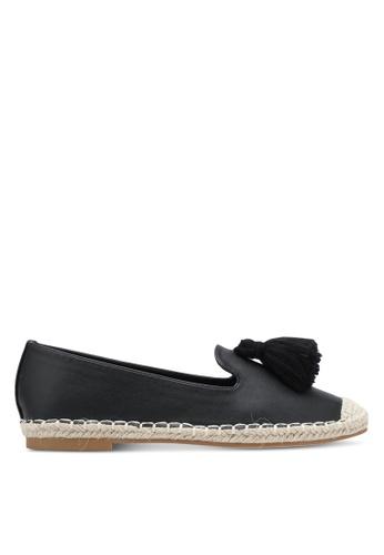 ZALORA black Faux Leather Tassel Loafers 72CC8SH0FE87F6GS_1