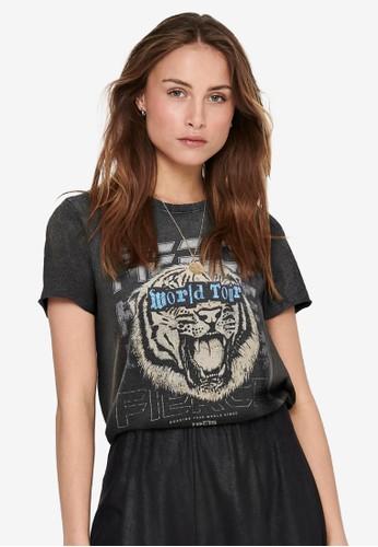ONLY black Lucy Life T-Shirt 5D5D4AA5354861GS_1