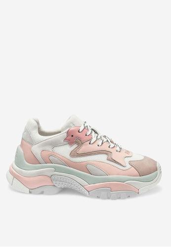 ASH pink Addict - Pink Mesh weaving Sneaker 24DFDSHA1A93C9GS_1