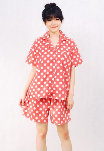 Pajamalovers Hara Light Red