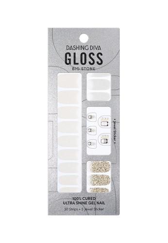 Dashing Diva white Dashing Diva Gloss Gel Strip Manicure Snowball /Nail Sticker /Nail Wraps 338CCBE7D1432EGS_1