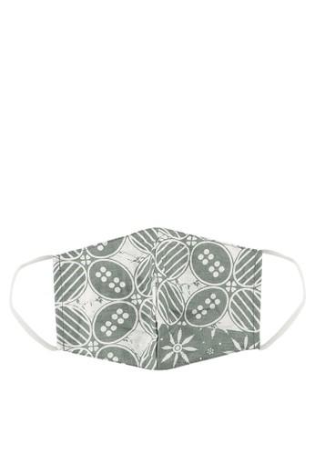 MITHLABS grey Masker Batik B7236ESF8CDA8FGS_1