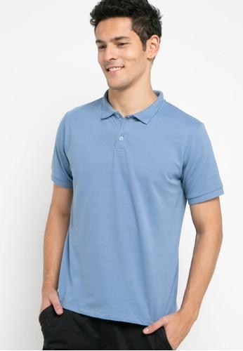 Tolliver blue Short Sleeve Polo Shirts E7CF6AAF4C2A6BGS_1