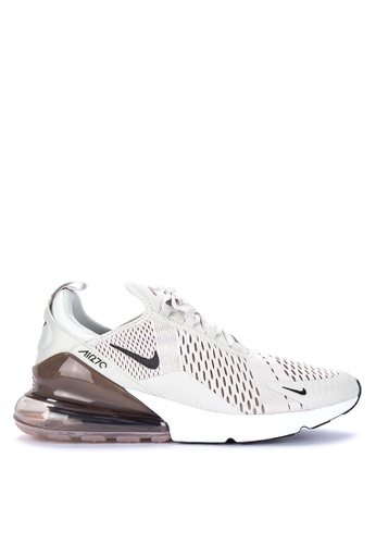 Nike black and grey and white Mens Nike Air Max 270 Shoes  E1DB9SH6BDDFA4GS1