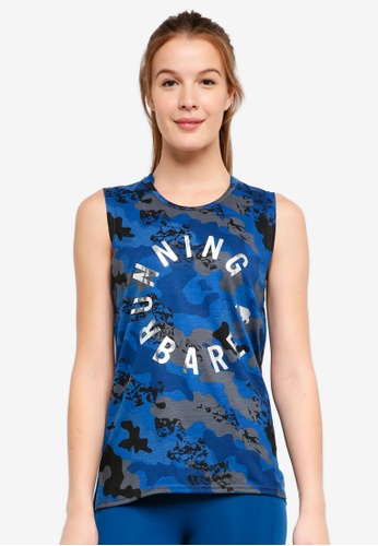 Running Bare blue and multi Dominik Easy Rider Muscle Tank Top D386DAAD10E55BGS_1