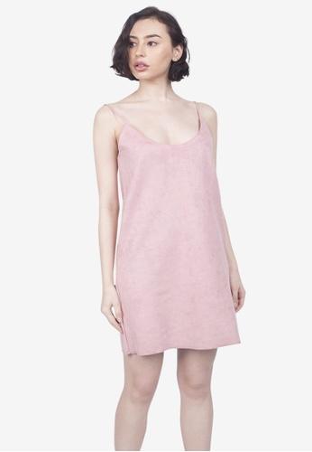 Caoros pink Slip Dress F0E57AA2EA8CA3GS_1