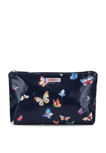 Cath Kidston navy Butterflies Zip Cosmetic Bag 31D57AC60AE5CDGS_1