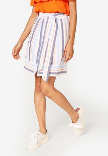 ESPRIT blue Light Woven Mini Skirt FABD2AA6CB4556GS_1