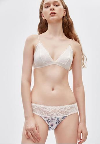 Celessa Soft Clothing Flower Maze - Low Rise Cotton Stretch Lace Waist Brief Panty C57C3US825F8EFGS_1