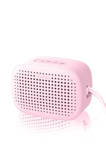 Latest Gadget pink Yoobao M2 TWS Portable Smart Bluetooth Speaker – Pink 64C73ES83F2978GS_1
