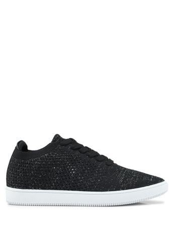 Bata black Weaved Sneakers 9AC9CSH31F0D80GS_1