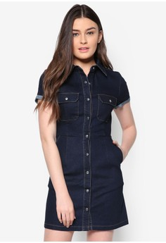 Love Denim Shirt Dress