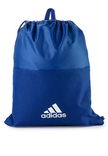 adidas blue adidas 3-stripes gym bag FCFD3ACBBE833BGS_1