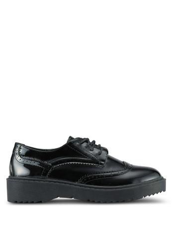 Something Borrowed black Lace Up Derbies 4AA49ZZ383CFA0GS_1