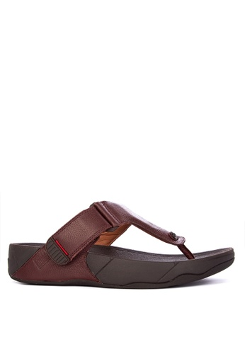 Fitflop brown Trakk II Sandals 416C2SH96598E0GS_1