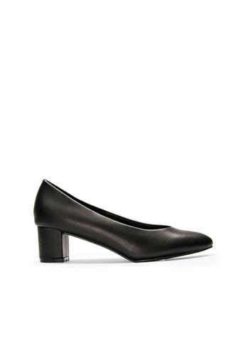 SEMBONIA black SEMBONIA Synthetic Leather Court Shoe (Black) 1B81BSHE47DF05GS_1