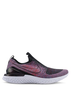 best loved 1444e 3939a Nike black Nike Epic Phantom React Flyknit Running Shoes 41CE2SH567C9ECGS 1