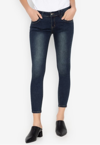 Balaynor blue Cropped Skinny Jeans 13160AAE046F87GS_1
