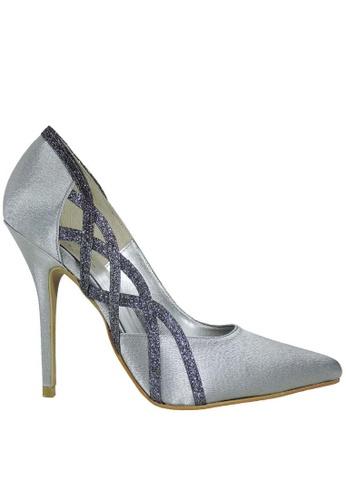 Jacque silver Mia Silver Heel JA262SH53LXQMY_1