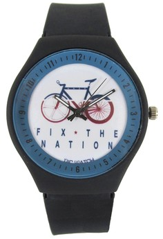Pic Watch Fix The Nation Unisex Silicon Watch