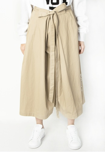 BSX brown BSX Women's Culottes 0442017112 72290AA1C3B347GS_1