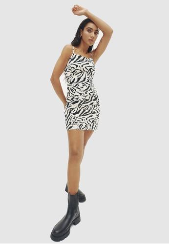 BWLDR multi Canyon Mini Dress 91A24AA988B63AGS_1