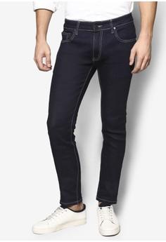 【ZALORA】 窄管丹寧牛仔褲