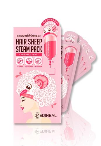 Mediheal pink Mediheal Hair Sheep Steam Pack Box (5 Sheets) A72BEBE68D6764GS_1
