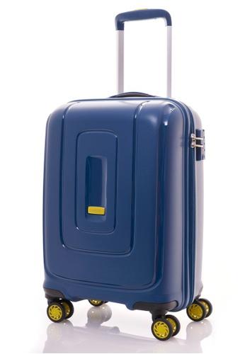 American Tourister blue American Tourister Lightrax Spinner 55/20 TSA AM536AC85XLYSG_1